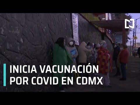 Inicia vacunación contra COVID-19 para adultos mayores en Cuajimalpa, CDMX - Despierta