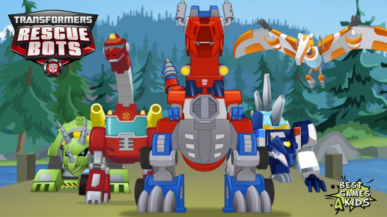 Transformers Rescue Bots Dino Island Griffin Rock S
