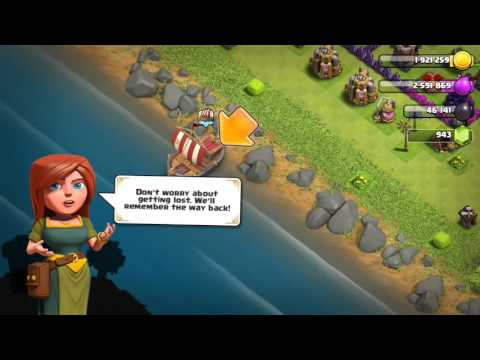 Clash of Clans - Starting villager base journey