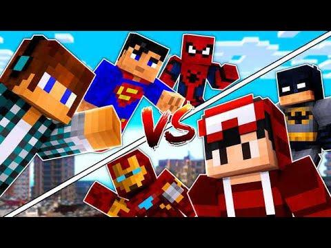 BATALHA DE SUPER PODERES !! Authentic Vs Minguado - Minecraft thumbnail