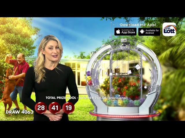 Saturday Lotto Results Draw 4063   Saturday, 27 June 2020   the Lott