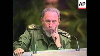 Castro opens celebrations for Cuban revolution anniversary