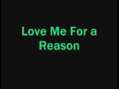 Boyzone- love me for a reason with lyrics