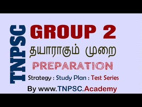 TNPSC Group 2 (Interview Post) Preparation Strategy and Study Plan by TNPSC.academy