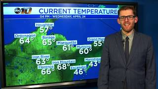 Upper Peninsula Weather Forecast - April 24, 2019