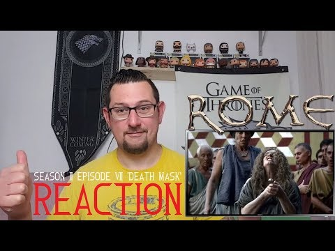 HBO Rome 2x7 'Death Mask' REACTION