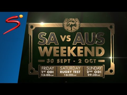 """Save It For Australia"" - SA vs AUS Weekend"