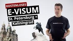 Kostenloses E-Visum für St. Petersburg und Kaliningrad