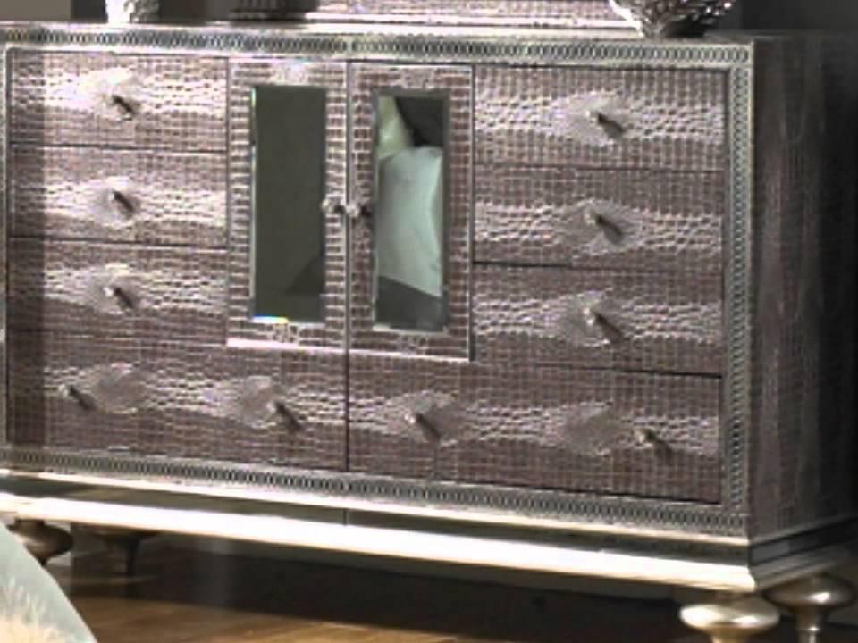set hollywood with upholstered bedroom bed collection loft en platform master aico