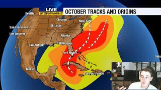 Tracking the Tropics: Short break after Maria, watching western Caribbean into early Oct.