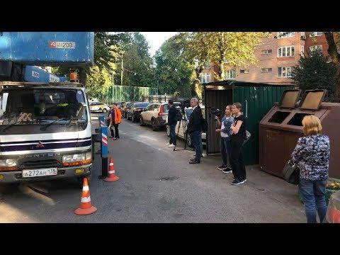 Жилищное рабство общежития «Трехгорки» в Москве / LIVE 29.08.19