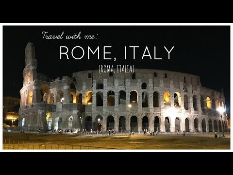 Travel With Me: ROME, ITALY | Travel Vlog