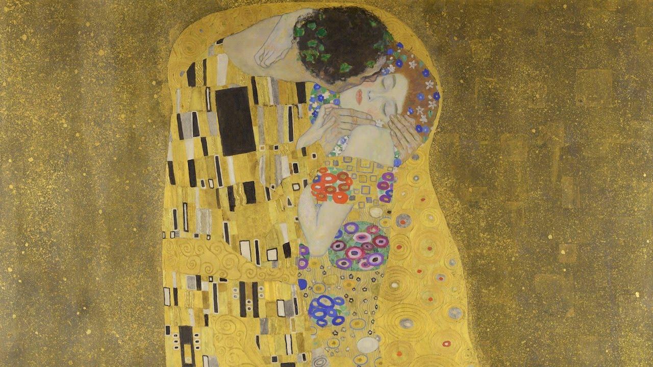 Gustav Klimt Il Bacio Spiegazione E Stile Dellopera Youtube