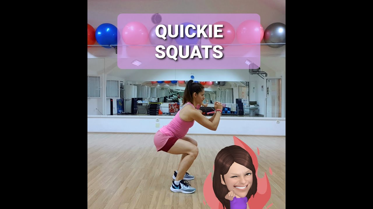 🏠 HOME FITNESS QUICKIE SQUATS  🏠 15 MINUTES LEGS AND GLUTES (NOGE I GLUTEUS) ⚡