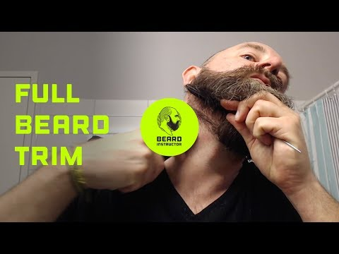 Full beard trim | Beard Instructor