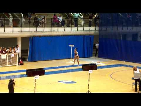 Brittany Parker - Vault - Day 1 Semi-Finals 4/9/09...