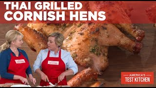 How to Make Thai Grilled Cornish Hens
