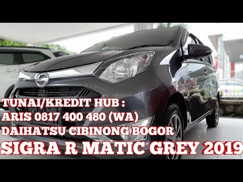 Sigra R Matic Daihatsu Sigra R At Grey 2019 Indonesia Youtube