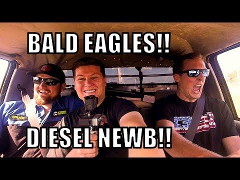 CLEETUS DRIVES THE FLATTY'!!!! (CUMMINS+NITROUS)