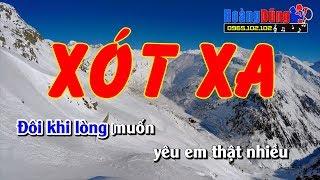 Xót Xa Karaoke - beat chất lượng cao