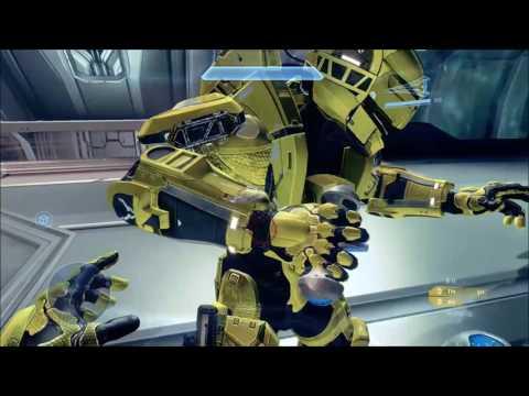 Halo 4 - Invisible Energy Sword Glitch