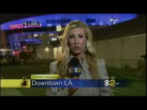 Serene Branson, What Happened to Grammys Reporter? 2/15/2011