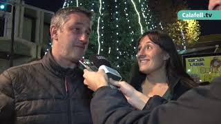 Encesa de llums i mercat de Nadal a Segur de Calafell