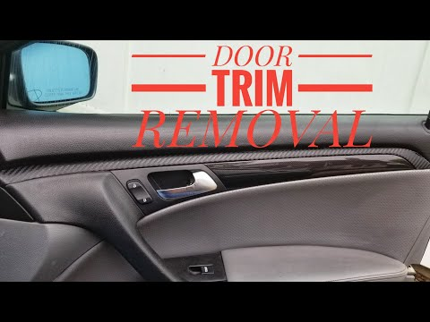 HOW TO REMOVE DOOR PANEL AND DOOR TRIM TUTORIAL