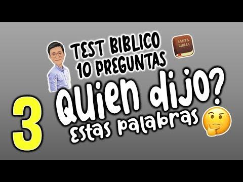 Quien Dijo 3 Juego Biblico Cuanto Sabes De La Biblia Youtube