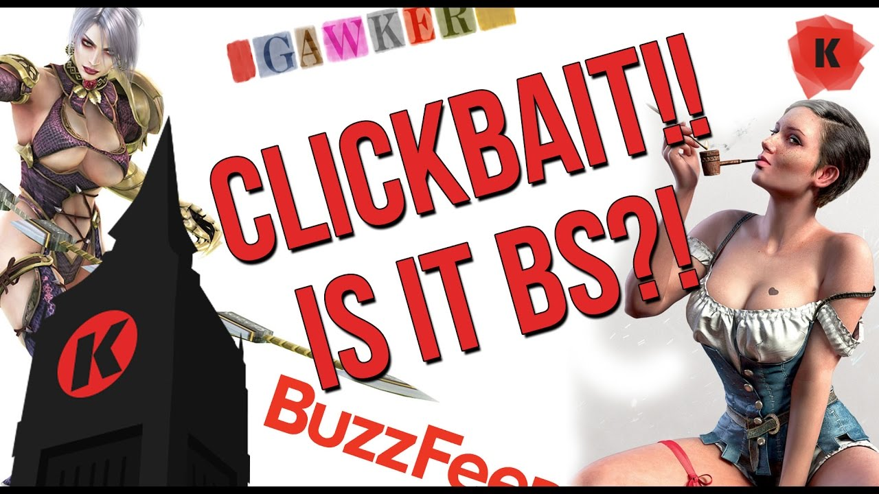 b.s. patrol: clickbait titles and thumbnails?! are they bad?! - youtube