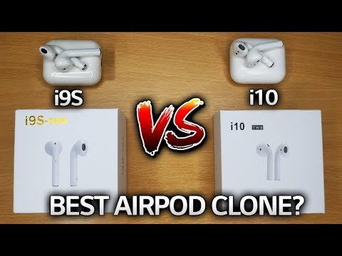 i9S VS i10 TWS: Which is the best AirPod clone?