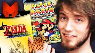 The BEST GameCube Games? Wind Waker vs Paper Mario TTYD - Madness (The Legend of Zelda)