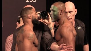 UFC 235 Ceremonial  Weigh-In: Tyron Woodley vs Kamaru Usman