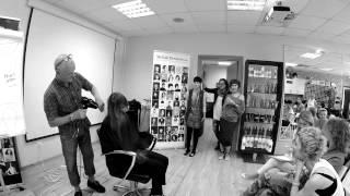 Стрижка слоями на длинных волосах от Стейси Броутона в Школе Simushka (Москва)