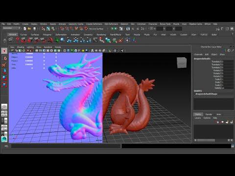 Autodesk Maya - Matcap script plugin