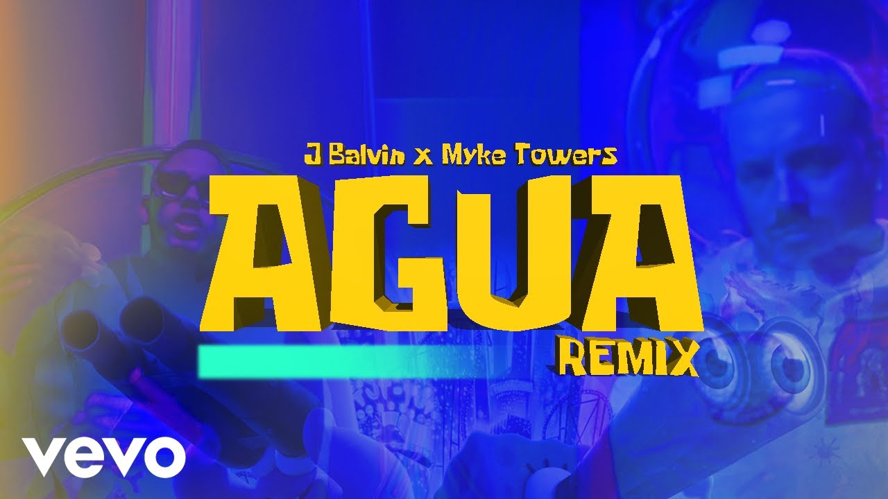 Tainy x J Balvin - Agua (Remix) Feat. Myke Towers [Video Oficial]
