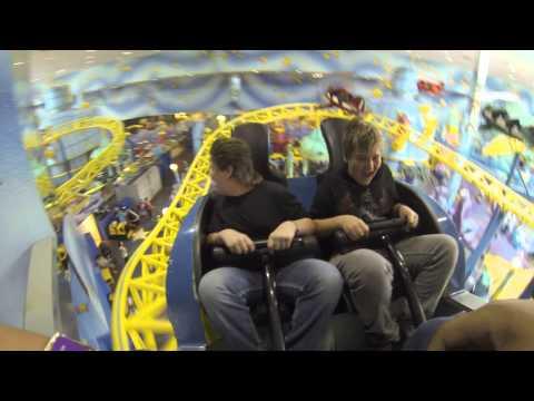 GoPro POV WEM West Edmonton Mall Amusement Park Galaxyland Orbiter Rollercoaster