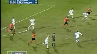 Шахтер 2-0 ЦСКА. Лига Европы 2008/2009. 1/8 финала