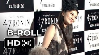 47 Ronin Japanese Premiere Red Carpet B-ROLL (2013) - Keanu Reeves Movie HD