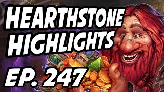 Hearthstone Daily Highlights | Ep. 247 | purple_hs, Day9tv, Savjz, GrinningGoat, DisguisedToastHS