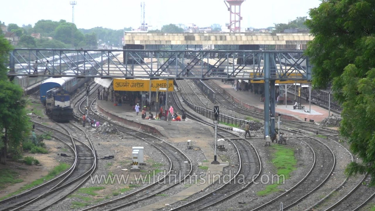 Ajmer junction fast forward in rajasthan youtube ajmer junction fast forward in rajasthan altavistaventures Image collections