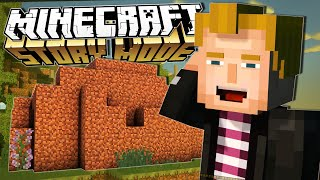 Minecraft Story Mode | GREATEST DIRT HOUSE EVER!! | Episode 1 [#4]