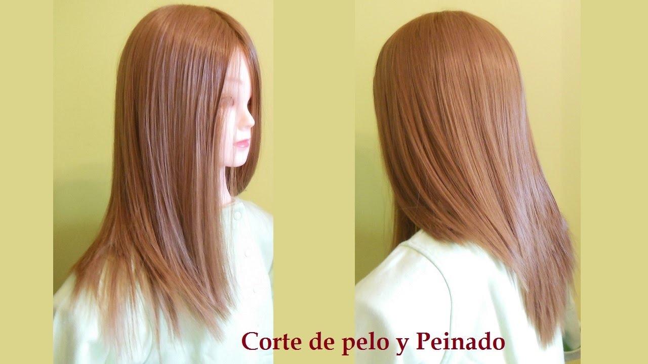 Corte de cabello largo paso a paso