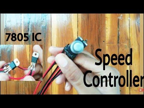 How to make DC motor speed controller, wap-5,part-9