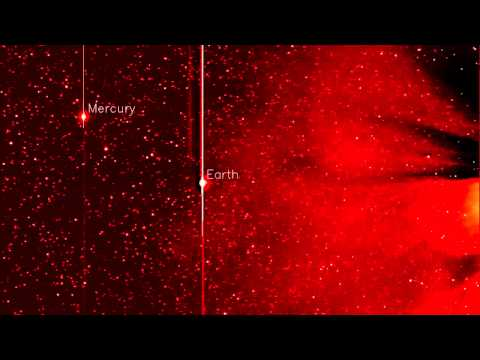 Best Yet Comet ISON Footage From STEREO Released   Video
