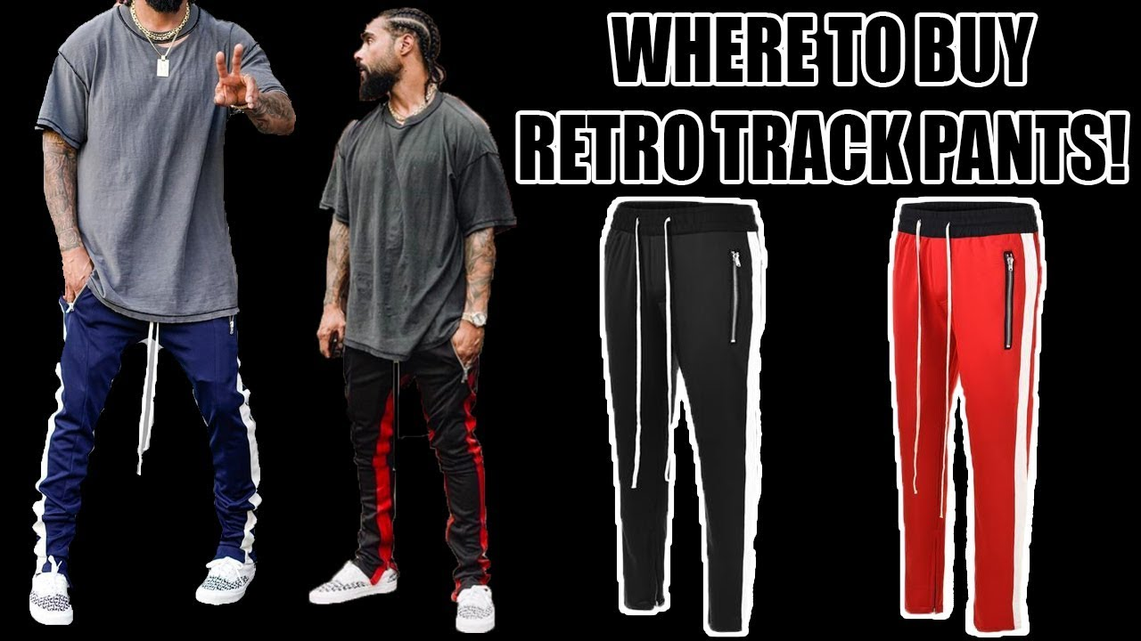 Where To Buy Retro Track Pants Youtube