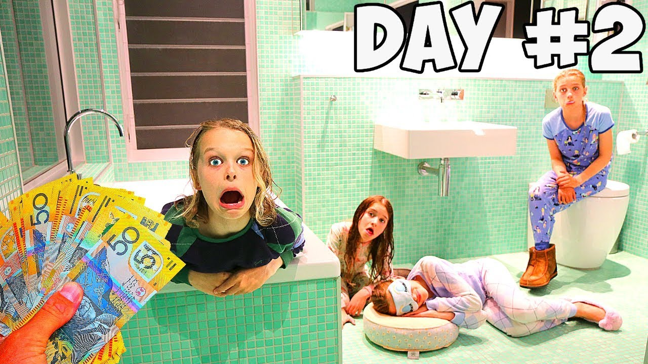 Download LAST TO LEAVE THE BATHROOM WINS $1000 Challenge w/ The Norris Nuts