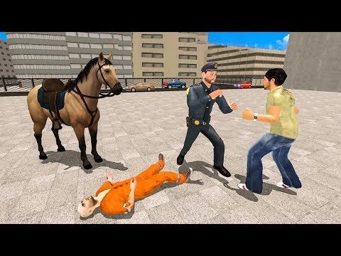Police Horse Street Crime Chase NY City Cop Duty (by 4wheelgames) Android Gameplay [HD]