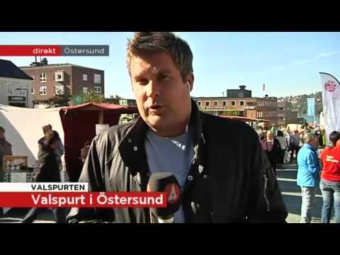 Valspurt i Sveriges fjärde rikaste kommun - Nyheterna (TV4)