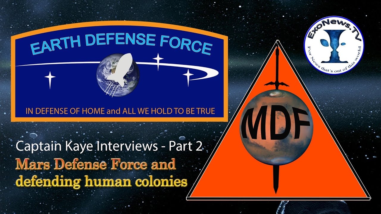 Mars Defense Force: Defending Human Colonies - Part 2 Capt ...